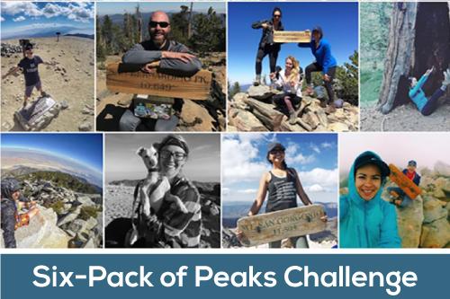 Six-Pack of Peaks Challenge™